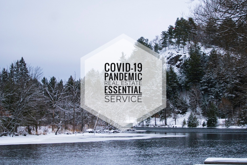 COVID-19 POLICY AND PROCEDURES Muskoka Real Estate Essential Service during pandemic