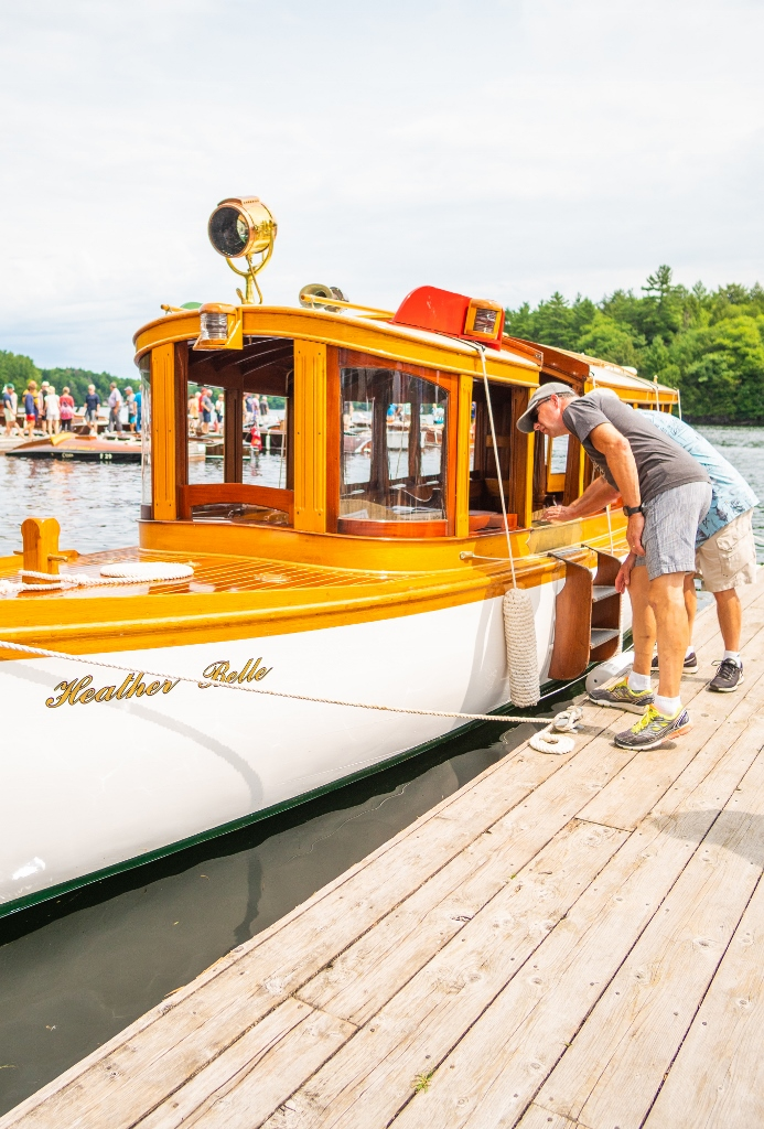 Muskoka Antique Boat Show Port Carling Lake Rosseau