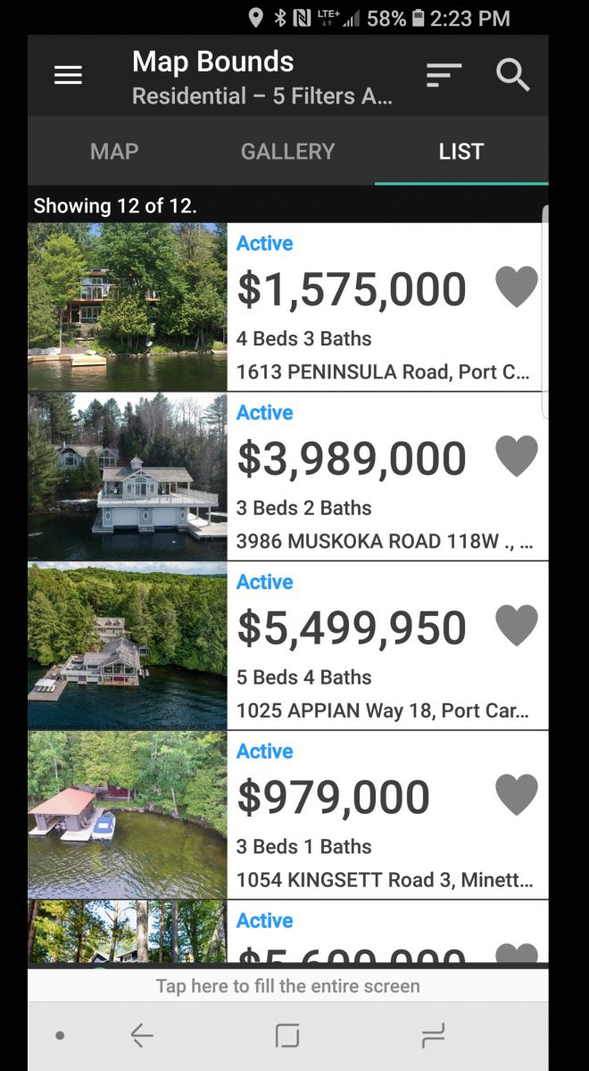 Jack Janssen Muskoka Cottage Property Locator App Chestnut Park Real Estate